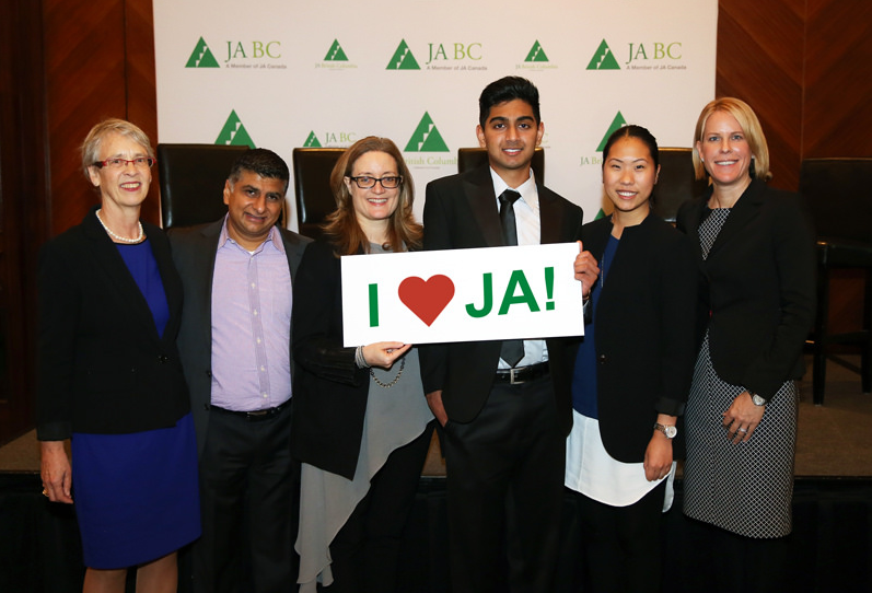 WATSON Advisors Jocelyn Tien at JA Leadership Breakfast Vancouver
